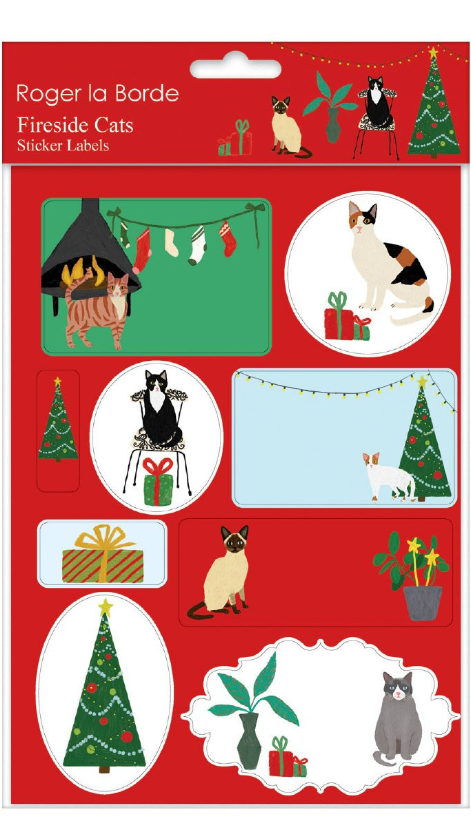 Christmas Stickers - Dogs and Cats