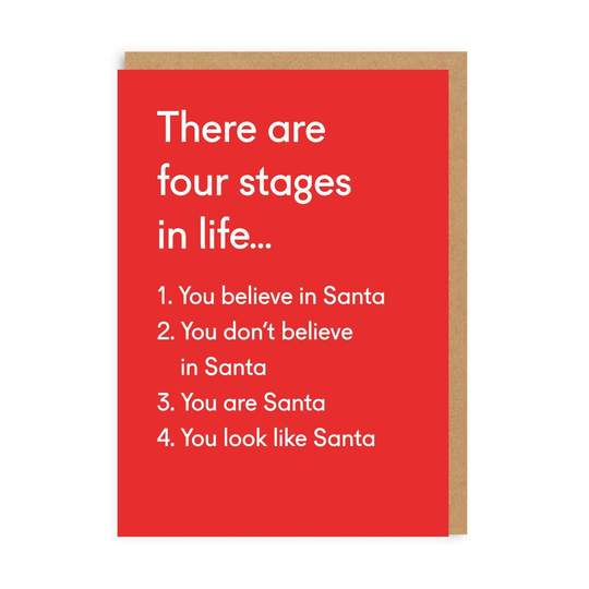 Four Stages In Life Christmas