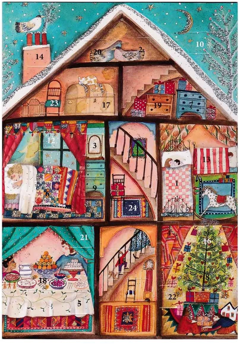Advent Calendar Cards (Different Designs)