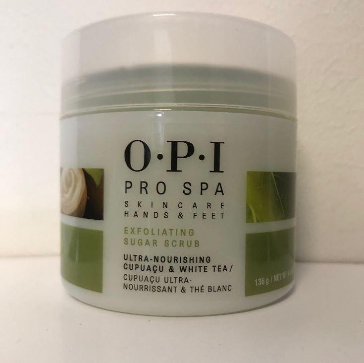 OPI Exfoliating Sugar Scrub
