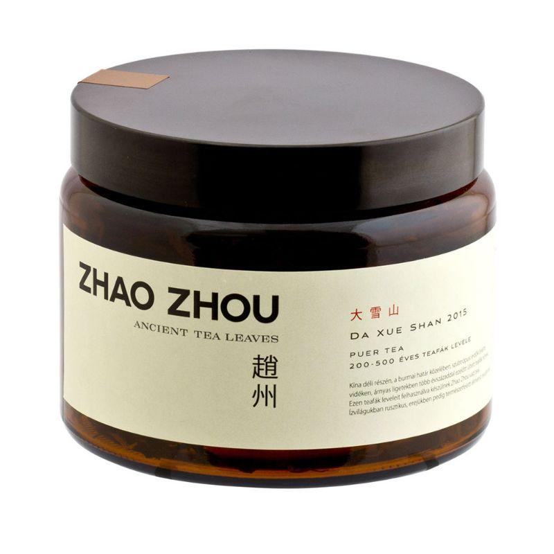 Zhao Zhou Da Xue Shan – Great Snow Mountain Puer No822 2015 108g