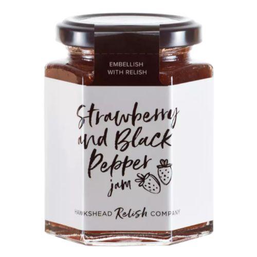 Hawkshead Relish Strawberry & Black Pepper Jam 225g