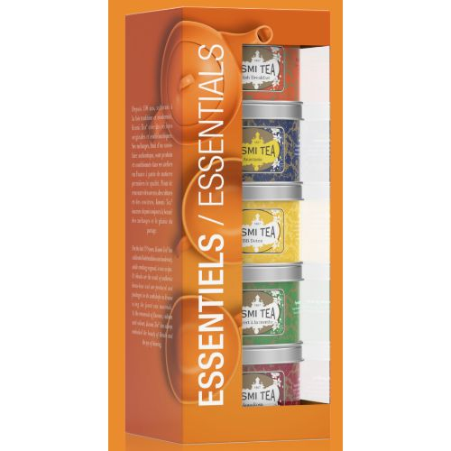 Kusmi The Essentials Loose Tea Gift Set 5x25g