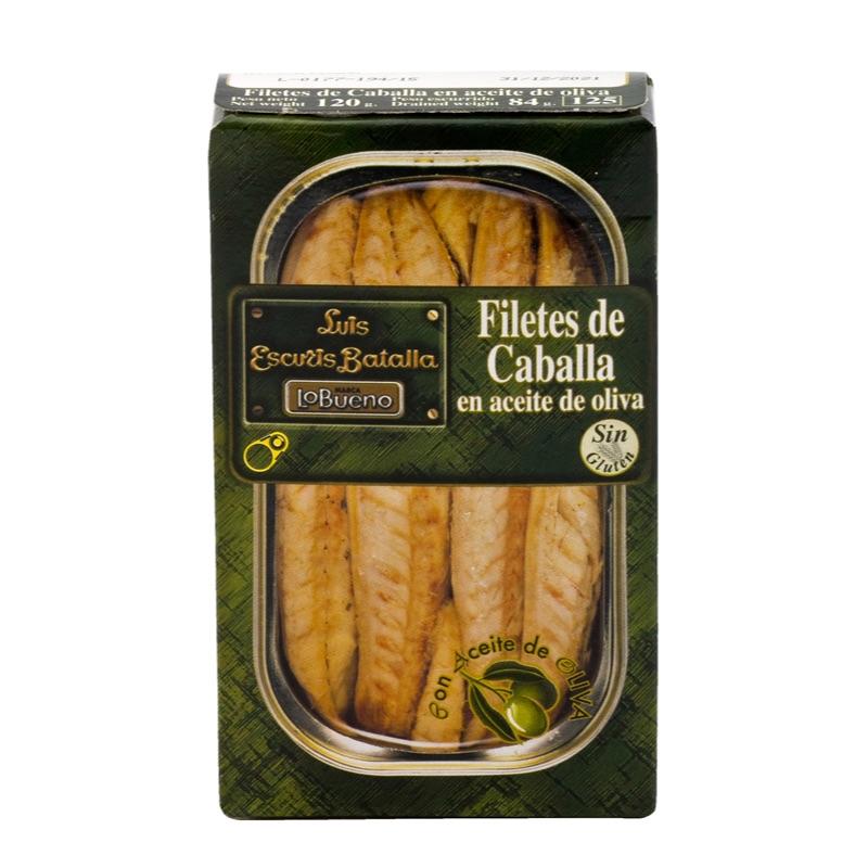 Luis Escuris Caballa Filetes en aceite de oliva 120g