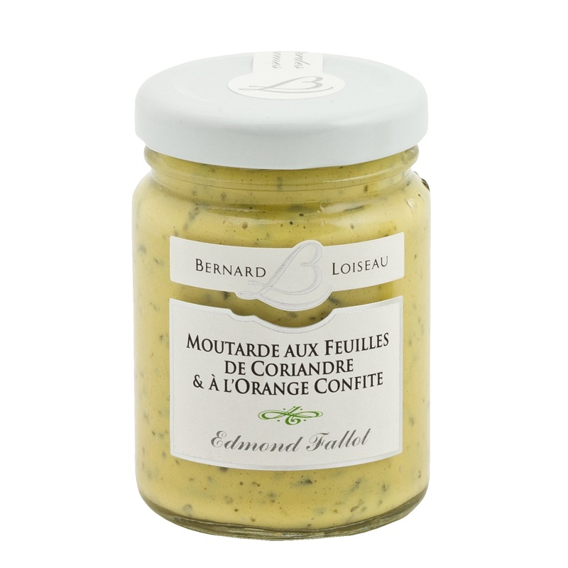 E.Fallot Mustard with coriander and orange 100g