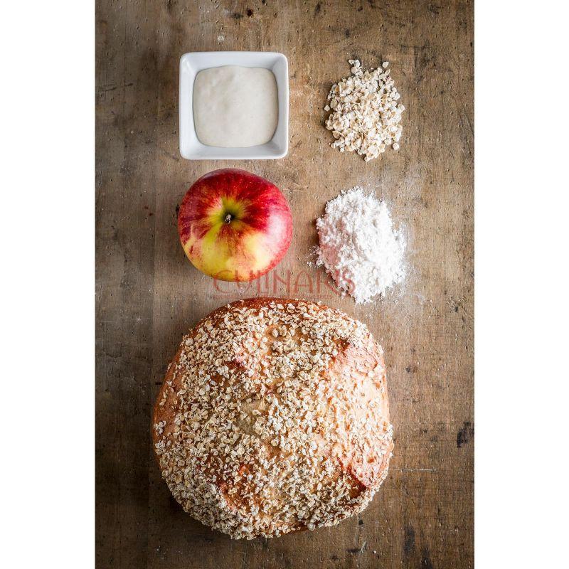 C Apple oat bread 450g