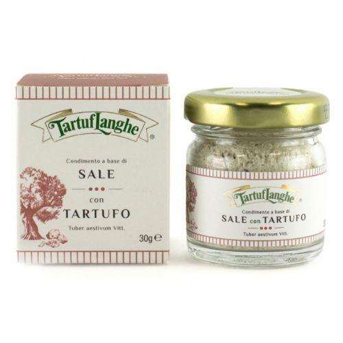TartufL Aestivum Black truffle salt 30g