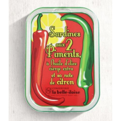 Belle Iloise Sardines with Chili Peppers and Lemon 115g