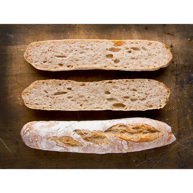 C 24h sourdough baguettina wholemeal 140g