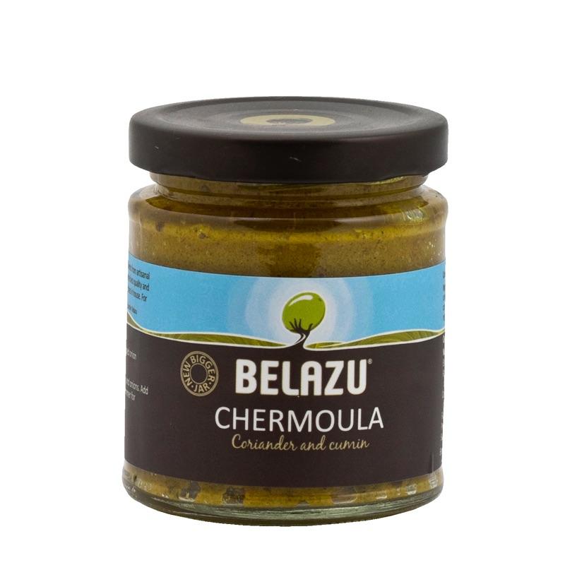 Belazu Chermoula Coriander and cumin paste 130g