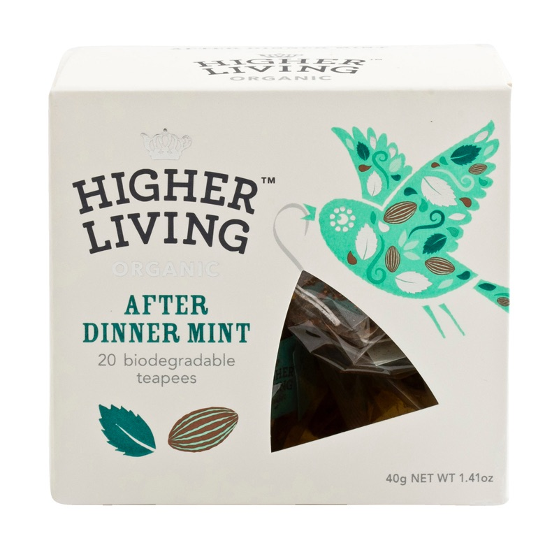 Higher Living Organic After Dinner Mint 50g