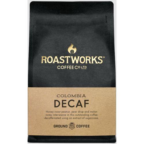 Roastworks Coffee Colombia Decaf Ground 200g
