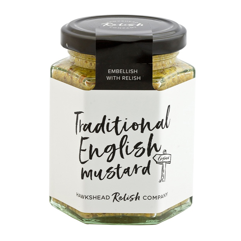 Hawkshead Relish Traditional English Mustard 180g