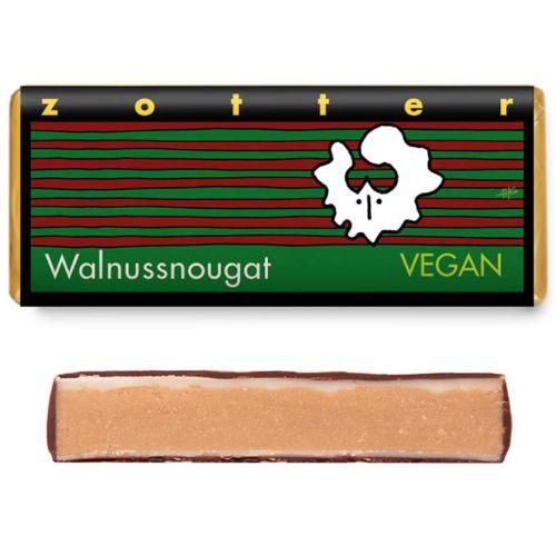 Zotter Walnut Praline Vegan 70g
