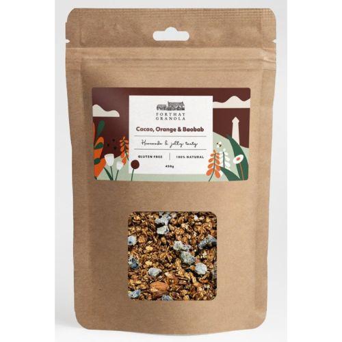 Forthay Granola Cacao, Orange & Baobab 450g
