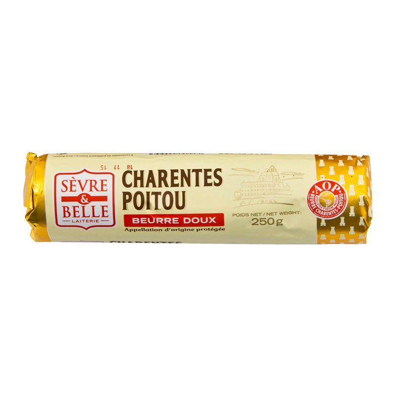 Sevre & Belle* Charentes Poitou Beurre Doux 250g