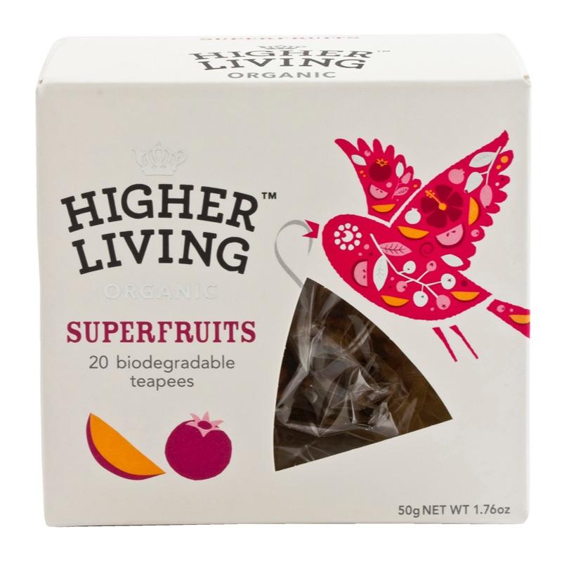 Higher Living Organic Superfruits 50g