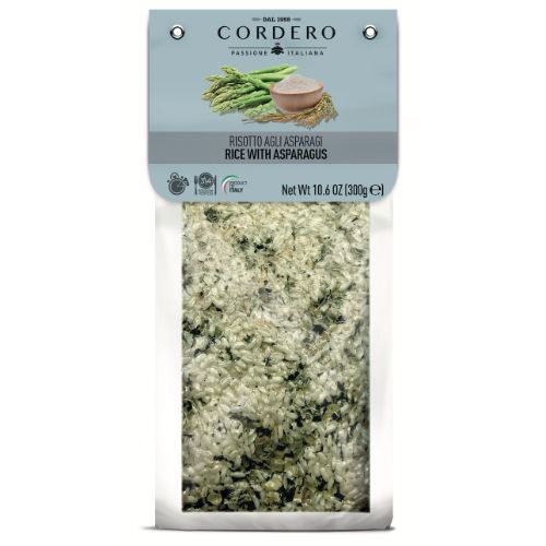 Cordero Risotto with Asparagus 300g
