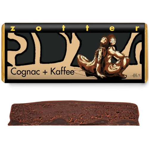 Zotter Cognac + Coffee 70g