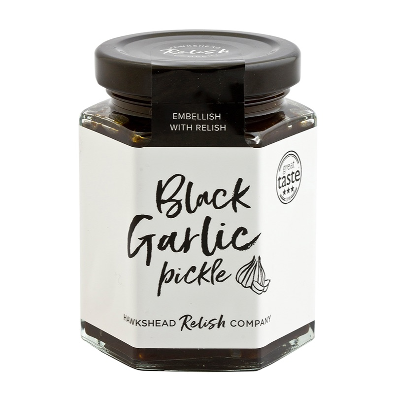 Hawkshead Relish Black Garlic Pickle 220g