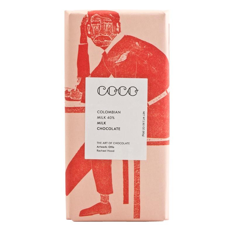 Coco Choco Milk Colombian 40% 80g
