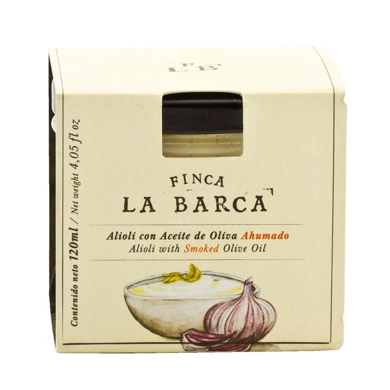 Finca La Barca Alioli with Smoked Olive Oil 120ml