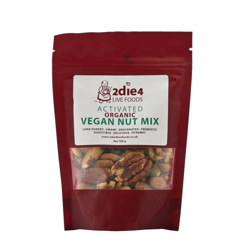 2die4 ORG Activated Mixed Nuts 100g