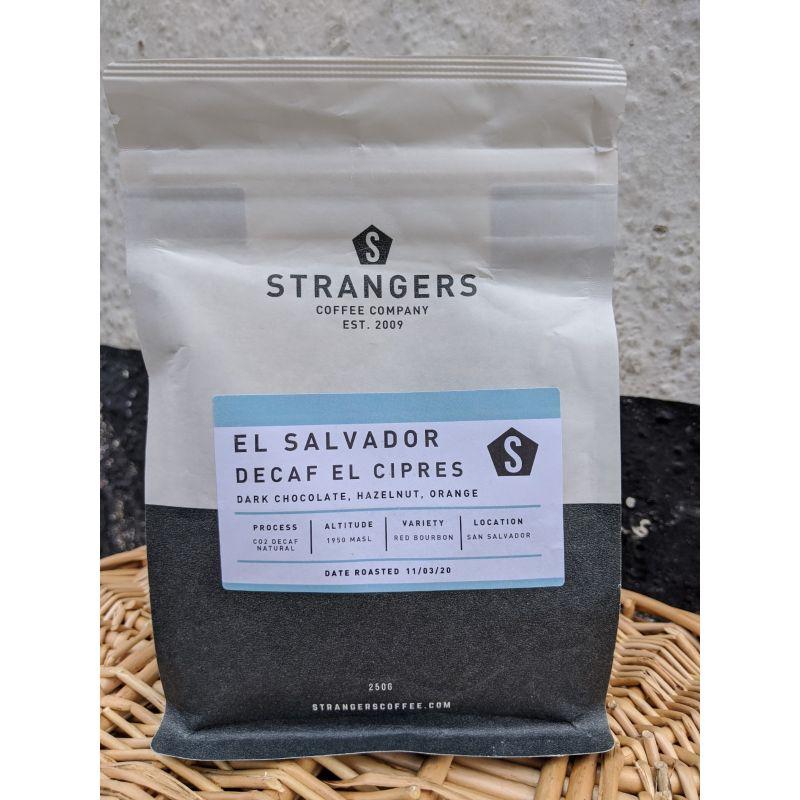 Strangers Coffee Decaf El Cipres El Salvador 250g