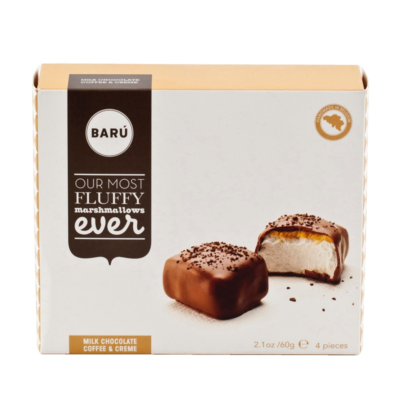 Baru Marshmallow Milk Chocolate  - Coffee & Creme 60g