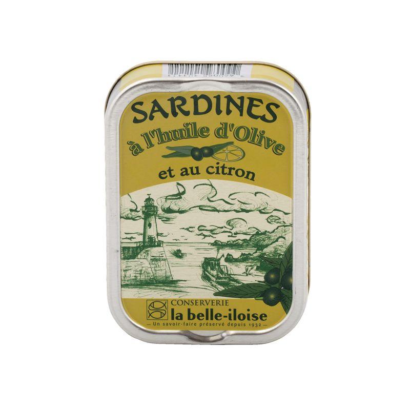 Belle Iloise Sardines Lemon&Olive Oil 115g