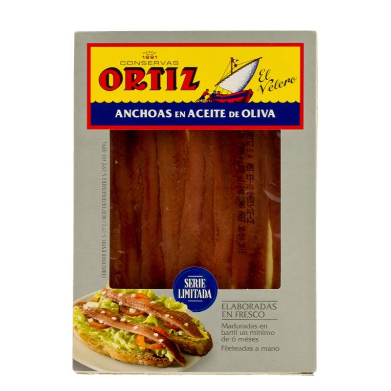 Ortiz* Anchovies Riserva o.oil 55g