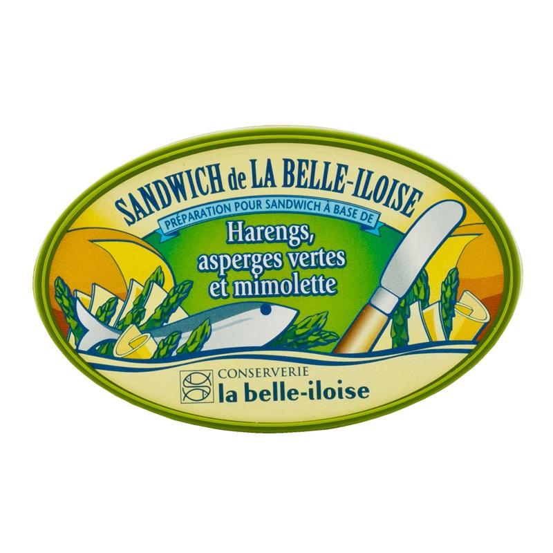 Belle Iloise Sandw. Hareng Asperges 115g