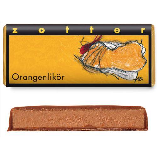 Zotter Orange Liqueur 70g