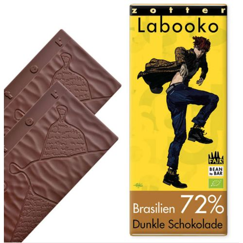 Zotter Labooko Brazil Dark 72% 70g