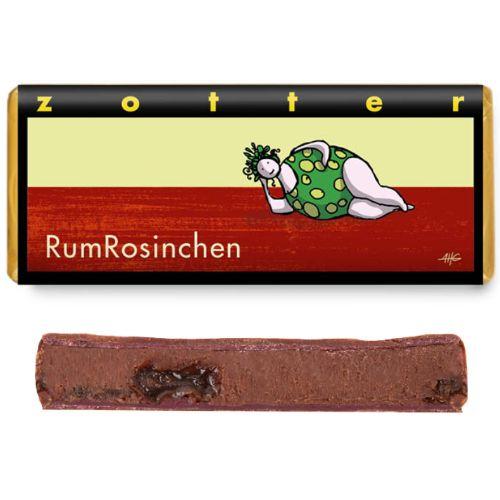Zotter Rum'n'Raisins 70g