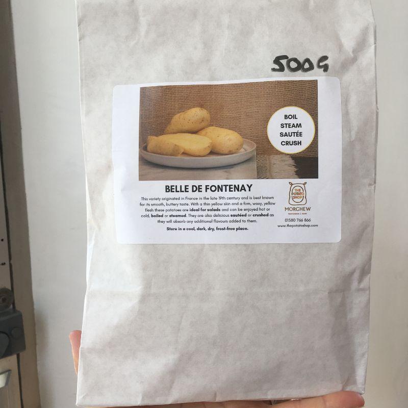 Potato Belle de Fontenay 500g