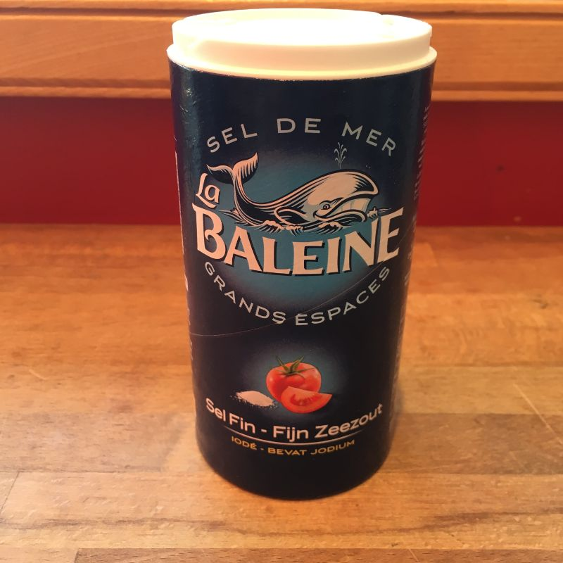La Baleine Sea Salt Fine iodized 500g