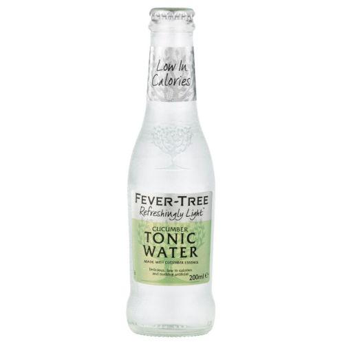 Fever Tree Light Cucumber Tonic Water, Glass 0,2l