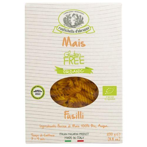 Rustichella Fusilli Mais, Gluten-free Organic Corn Flour Pasta 250g