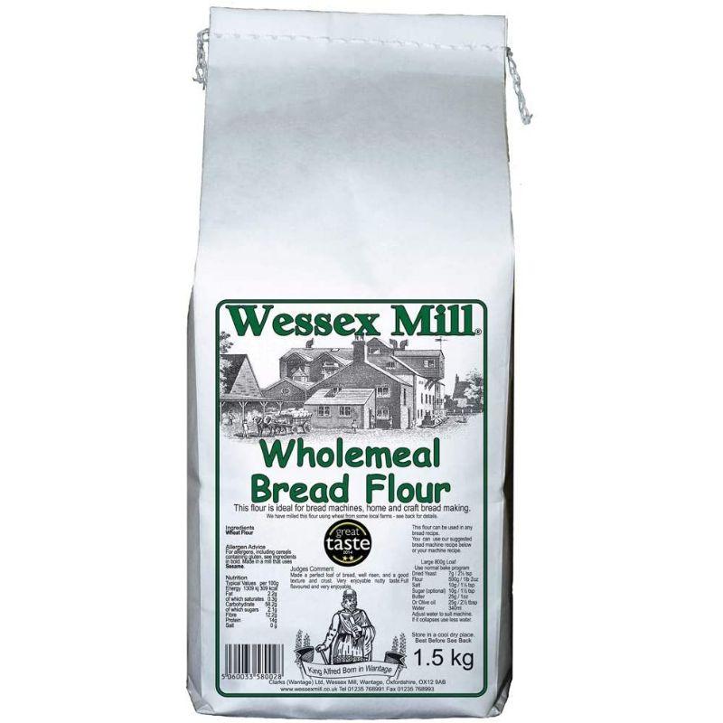 WessexM Wholemeal Bread Flour 1.5kg