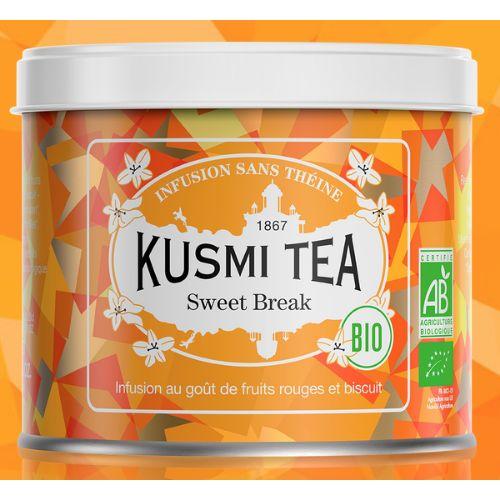 Kusmi Sweet Break Organic Loose Fruit Tea Tin 100g