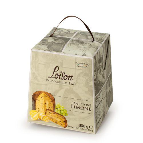 Loison Panettone Candied Lemon & Lemon Cream Astucci L942 600g