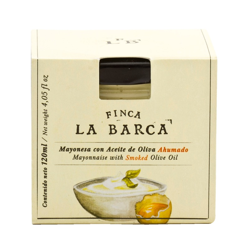 Finca La Barca Mayonnaise with Smoked Olive Oil 120ml