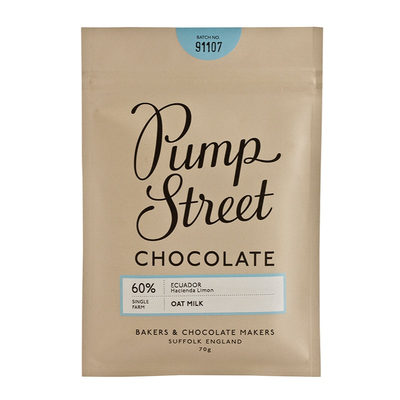 Pump Street Oat Milk Ecuador, 60% 70g