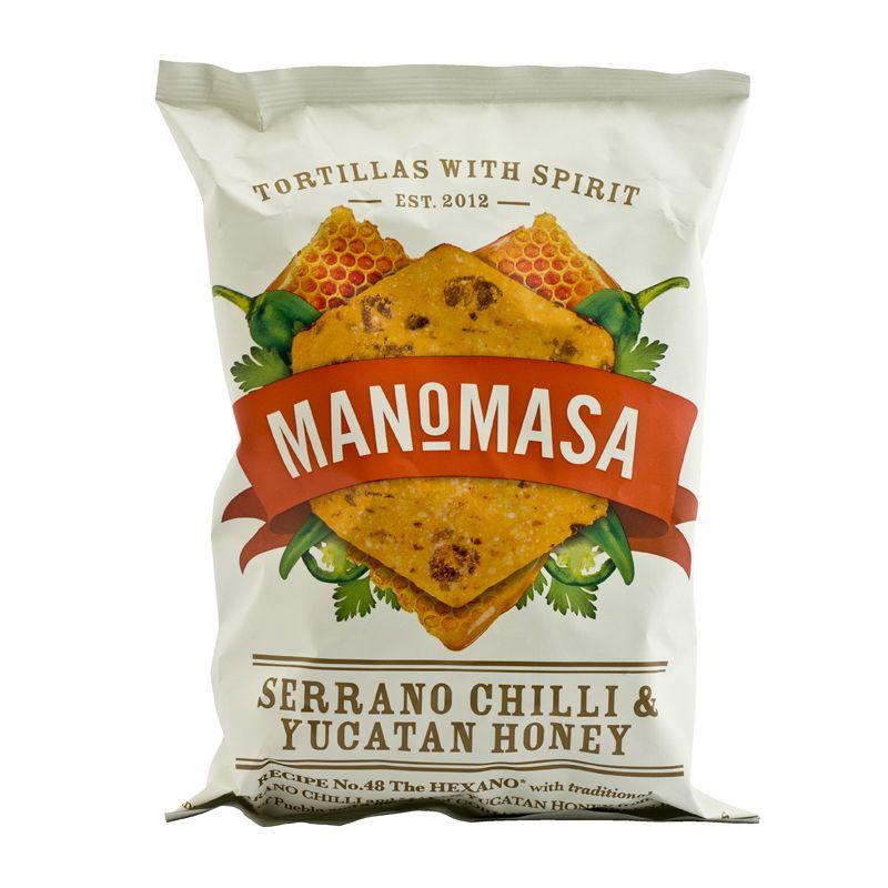 Manomasa Serrano Chilli & Yucatan Honey 160g