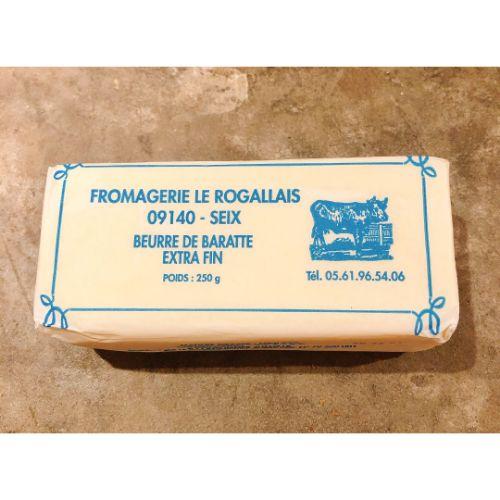 Xavier Beurre Rogallais extra fin Doux 250g