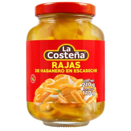 La Costena Habanero Rajas Pickle 210g