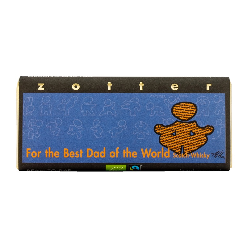 Zotter For the Best Dad of the World 70g