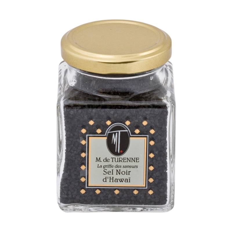 M.Turenne Hawaiian Black Salt 200g