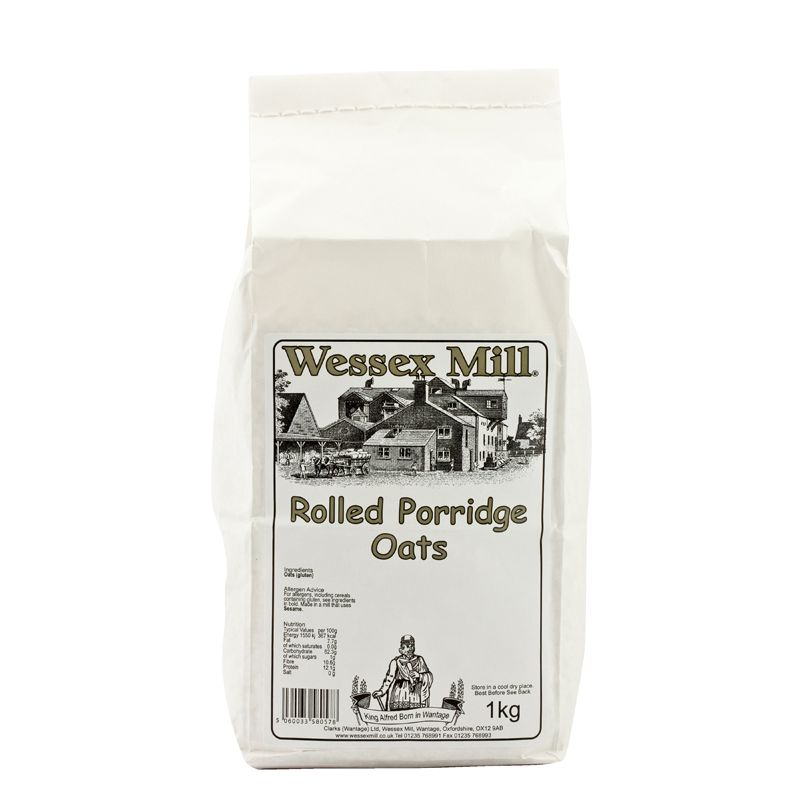 WessexM Rolled Porridge Oats 1kg